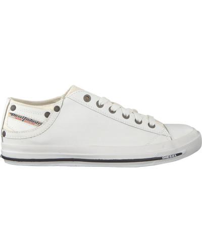 Weiße Diesel Sneaker Magnete Exposure IV LOW W