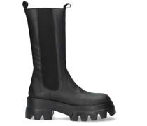 Chelsea Boots Bonum Mid 67 Schwarz Damen