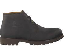 Braune Panama Jack Ankle Boots BASIC