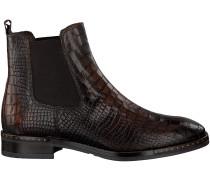 Braune Omoda Chelsea Boots 86B-001