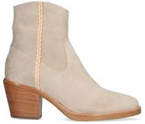 Stiefeletten Ankle Boot With Zipper 7 Cm Su Grau Damen