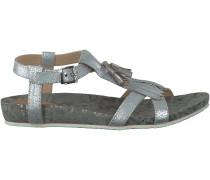 Silberne Lazamani Sandaletten 85.021