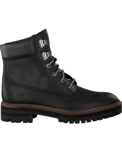 Schwarze Schnürboots London Square 6IN Boot