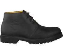 Schwarze Panama Jack Ankle Boots BASIC