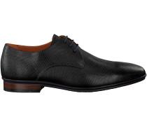 Schwarze Van Lier Business Schuhe 4360