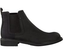 Schwarze G-Star Chelsea Boots D06377