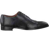 Schwarze Van Lier Business Schuhe 4122