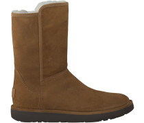 Camelfarbene UGG Winterstiefel ABREE SHORT II