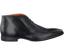 Schwarze Van Lier Business Schuhe 6051