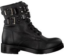 Schwarze Tosca Blu Shoes Schnürboots SF1710S200