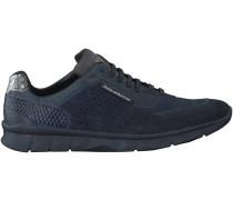 Blaue Floris van Bommel Sneaker 16145