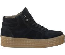 Schwarze PS Poelman Sneaker P13618-L782POE