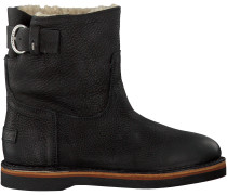 Schwarze Shabbies Ankle Boots 181020054