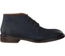 Blaue Tommy Hilfiger Business Schuhe ROUNDER 3N