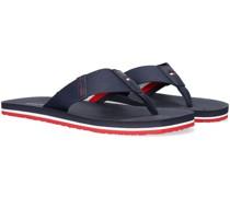 Zehentrenner Classic Comfort Beach Sandal Blau Herren