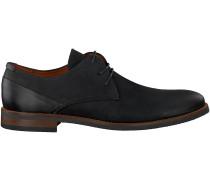 Schwarze Van Lier Business Schuhe 5340
