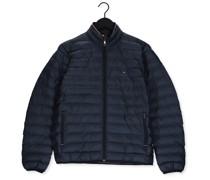 Wattierte Jack Core Packable Circular Jacket Blau Herren