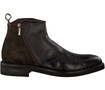 Braune Greve Ankle Boots CABERNET II