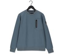 Sweater R-neck Fancy Sweat Xv Hellblau Herren