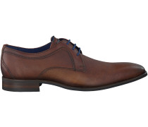 Cognac Braend Business Schuhe 415218
