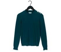 Pullover Molly Frill Pullover Grün Damen