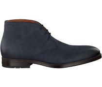 Blaue Van Lier Business Schuhe 6151