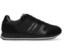 Sneaker Low Low Top Lace Up Schwarz Herren