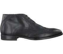 Schwarze Giorgio Business Schuhe HE77607