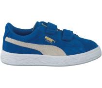 Blaue Puma Sneaker SUEDE 2 STRAPS