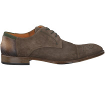 Taupe Omoda Business Schuhe 178200