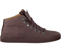 Rote Nubikk Sneaker JHAY MID