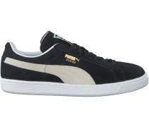 Schwarze Puma Sneaker SUEDE CLASSIC+ DAMES