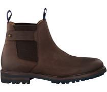 Braune Gant Chelsea Boots NOBEL