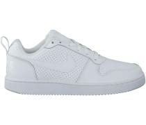 Weiße Nike Sneaker COURT BOROUGH LOW WMNS