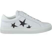 Weiße Nubikk Sneaker JULIA GALLAXY