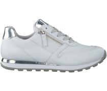 Weiße Gabor Sneaker 368