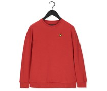 Sweatshirt Oversized Sweatshirt Rot Damen