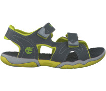 Graue Timberland Sandalen ADVENTURE SEEKER 2 STRAP KIDS
