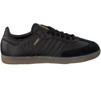 Schwarze Adidas Sneaker SAMBA DAMES