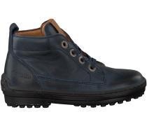 Blaue Develab Ankle Boots 46073
