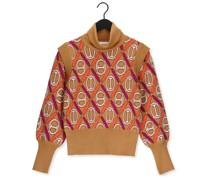 Rollkragenpullover Sweater Killen Camel Damen