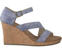 Blaue Toms Sandalen CLARISSA