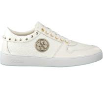 Weiße Guess Sneaker FLGIA3 PAT12
