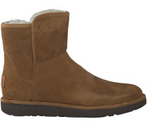 Camelfarbene UGG Winterstiefel ABREE MINI