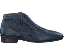 Blaue Floris van Bommel Business Schuhe 10754