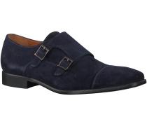 Blaue Van Lier Business Schuhe 6006
