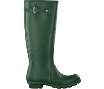 Hunter Gummistiefel Womens Original Tall Grün Damen