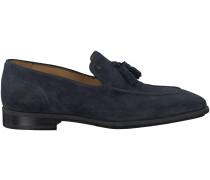 Blaue Van Bommel Business Schuhe 11124