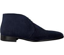 Blaue Greve Business Schuhe FIORANO 2100