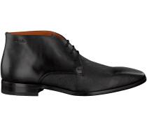 Schwarze Van Lier Business Schuhe 6031